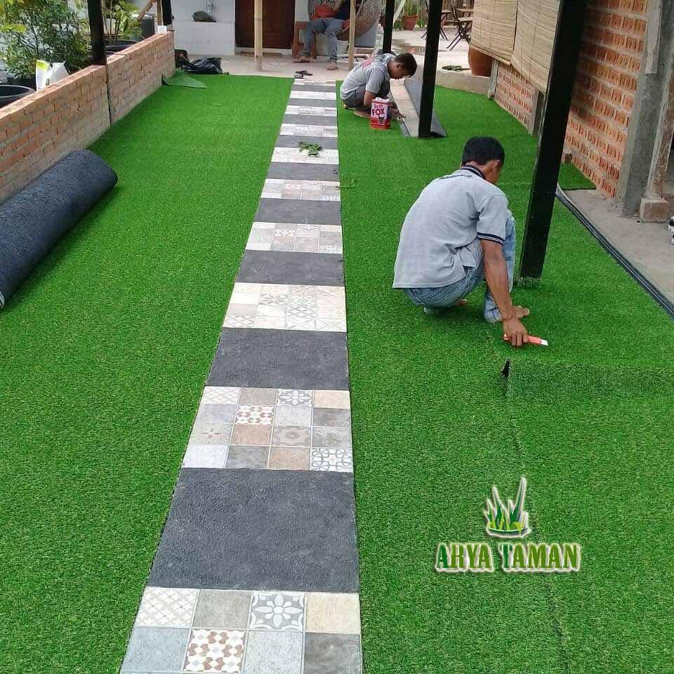 Jasa Pemasangan rumput Sintetis di Bogor